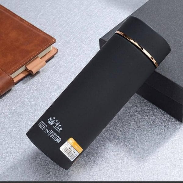 Stainless Steel Matte Coloured Double Sided Vacuum Flask 450ml